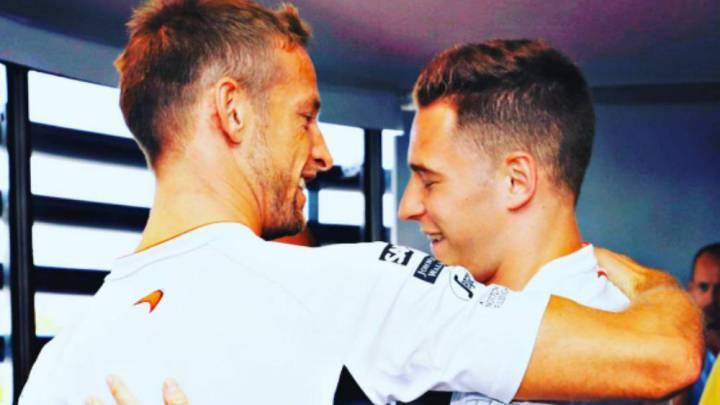 """Button a Vandoorne: """"Correr en McLaren y con Alonso es difícil..."""""""