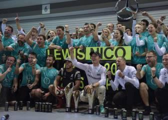 Mercedes y Malasia: 36 puntos para ser tricampeones