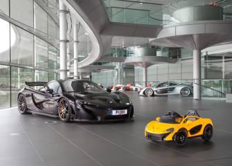 McLaren presenta su primer eléctrico 100%... para niños