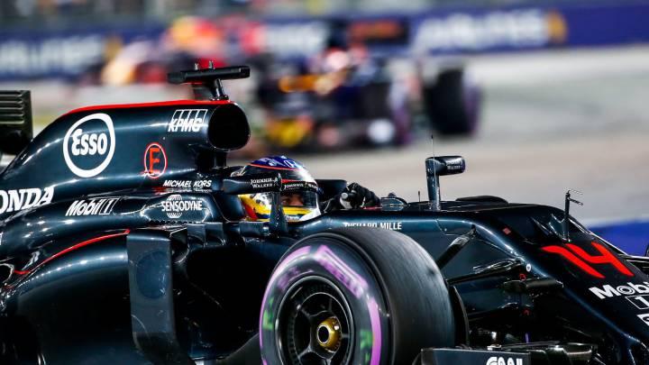 McLaren Honda: objetivo acabar la carrera en Sepang