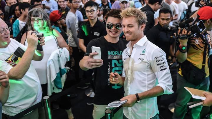 Las apuestas para Malasia van en contra del líder Rosberg