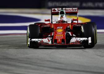 Vettel: del 'Ferrari ha vuelto' a perder la paciencia