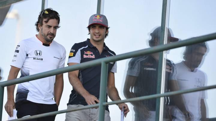 """Alonso: """"¿Sainz en McLaren? Ojalá, quien esté aquí ganará"""""""