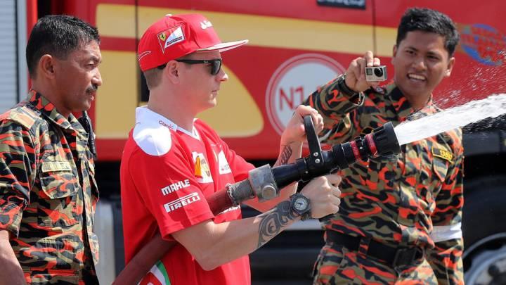 """Raikkonen: """"Ferrari será fuerte en condiciones de carrera"""""""