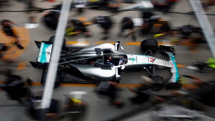 Los equipos esperan batir los tiempos de los V10 en Malasia