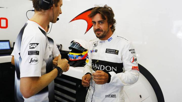 """Alonso: """"¿Calificación? Daré una vuelta y la veré por televisión"""""""