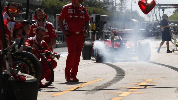 """Vettel apuesta fuerte: """" Nuestro objetivo es la victoria"""""""