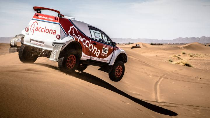 El Acciona 100% Ecopowered regresa al Rally de Marruecos