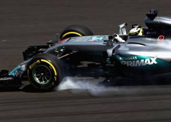 Hamilton, líder con Verstappen cerca, Sainz 9º y Alonso último