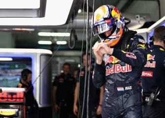 Verstappen sufrió un mareo al deshidratarse tras los Libres 1