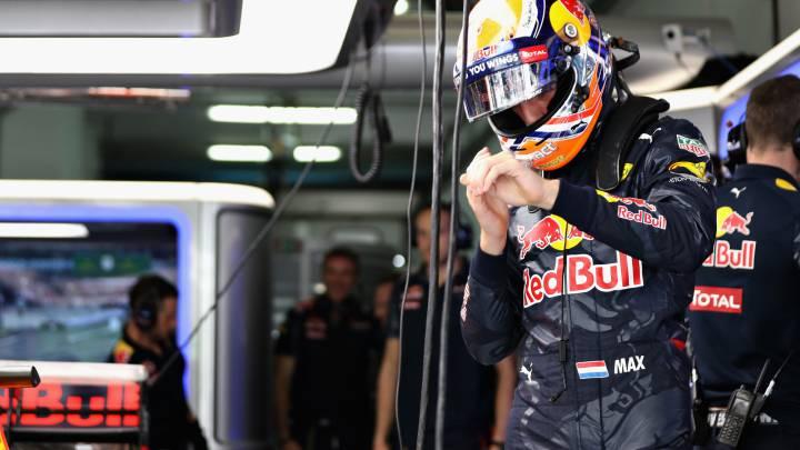 Verstappen sufrió un mareo por deshidratación tras los Libres 1