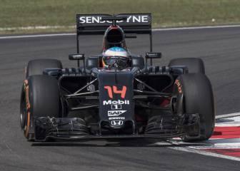 Nueva sanción a Alonso: 45 puestos en total en Malasia
