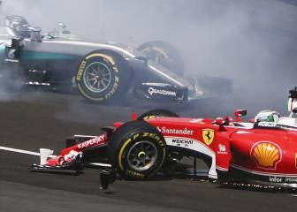 Rosberg desvela lo que le dijo Vettel después del accidente