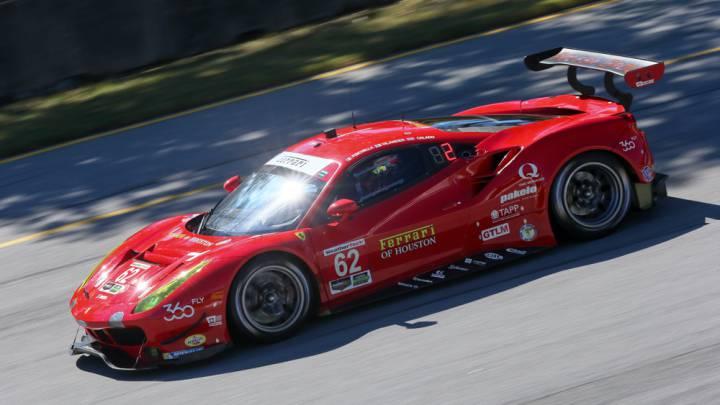 Fisichella sigue en forma: ganó con el Ferrari 488 GTE en Atlanta
