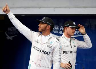Mercedes será campeón de constructores en Japón si...
