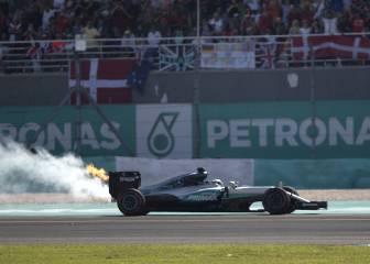 Mercedes identifica el fallo en el motor de Hamilton: la biela