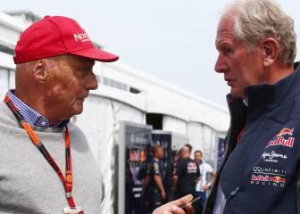 Lauda niega que Red Bull forzara la rotura de Hamilton