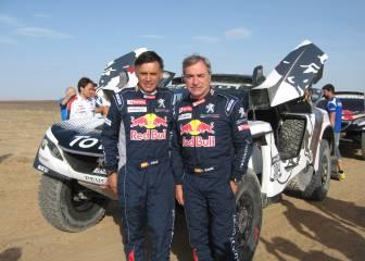 "Sainz: ""Mi objetivo es intentar volver a ganar el Dakar"""