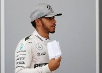 Hamilton planta a la prensa: