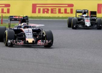 McLaren y Toro Rosso: no hay nadie más lento en Suzuka