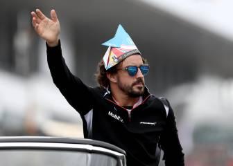 Alonso fue recibido como los 'Beatles' a su llegada a Suzuka