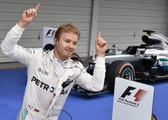 Rosberg firma quedar segundo