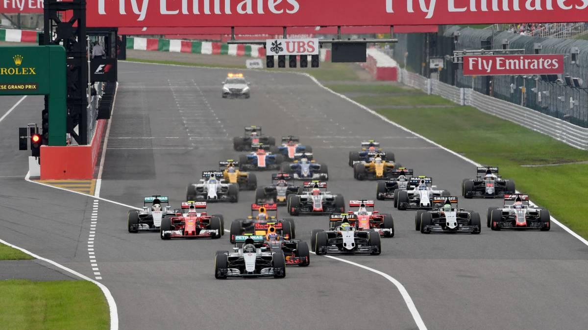 Uno por uno del GP de Japón en Suzuka en el que ganó Rosberg