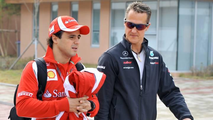 """""""Schumacher se retiró para darme una oportunidad"""""""