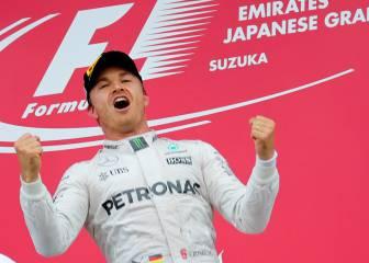 Rosberg ya ha ganado en tantos GGPP como Alonso