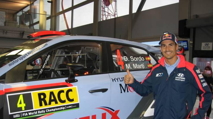 """Dani Sordo: """"Aquí ya he hecho muchos podios, quiero ganar"""""""
