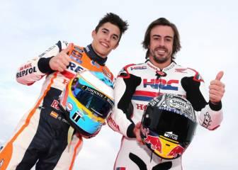 Alonso felicita a Márquez y a Honda por el título de MotoGP