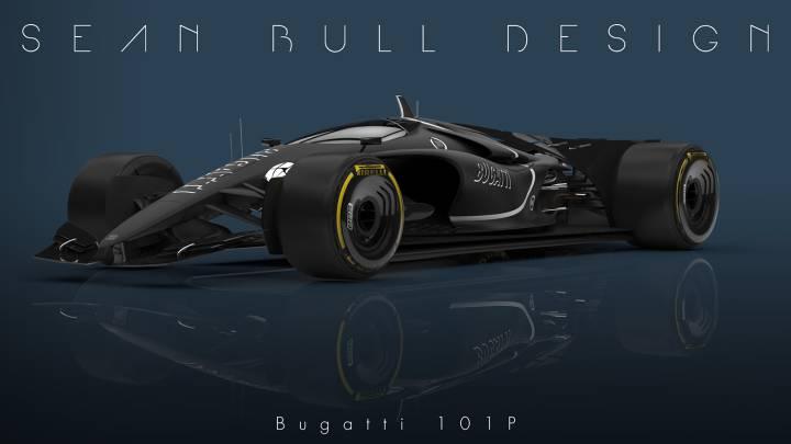 Bugatti 101P, ¿el F-1 del futuro?
