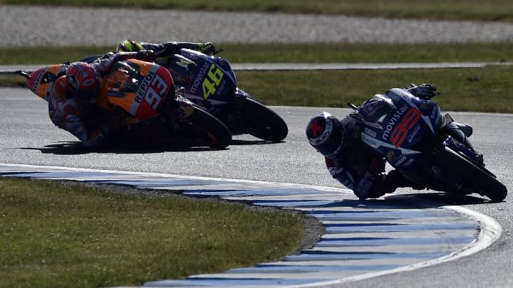 Australia: un año después del 'biscotto' que denunció Rossi en el Mundial de MotoGP contra Márquez y Lorenzo