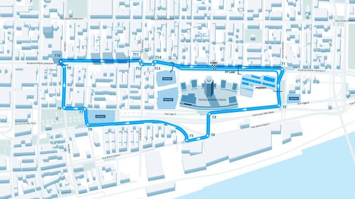 Montreal desvela su circuito 'eléctrico' para el debut en 2017