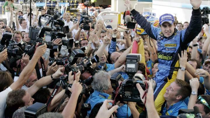 Fernando Alonso, diez años persiguiendo a Senna