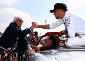 Ecclestone quiere a Hamilton campeón antes que Rosberg
