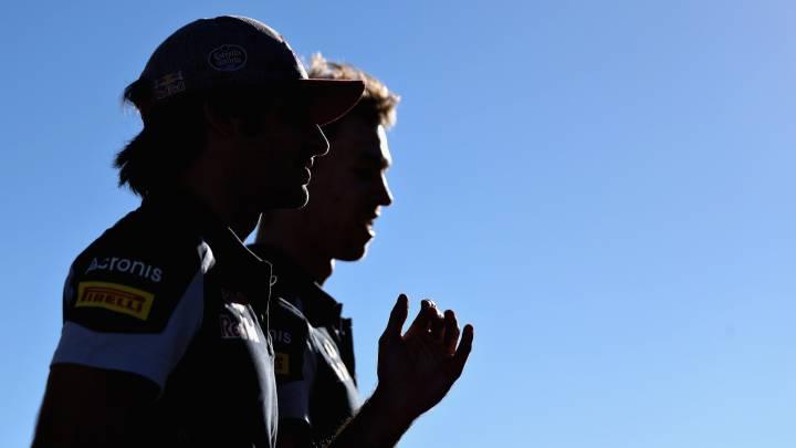Sainz seguirá con Kvyat el próximo año en Toro Rosso
