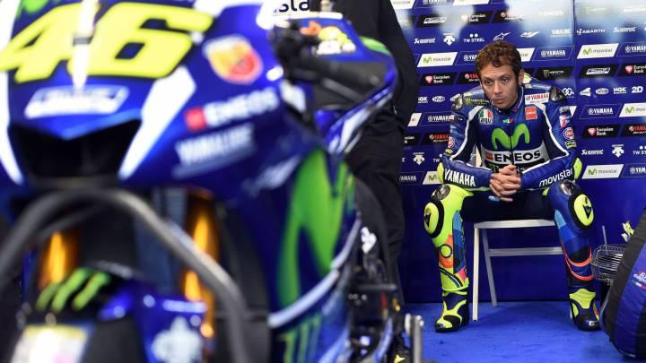 """Rossi: """"Arriesgando mucho he seguido siendo muy lento"""""""