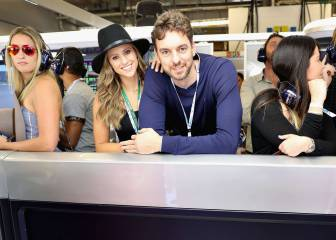 Gasol arropa a Alonso y Sainz: