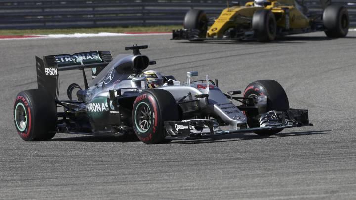 Carrera del GP de EEUU 2016 de F1 en directo y en vivo online en el Circuito de las Américas, hoy, 23/10/2016 a las 21.00 horas en AS.