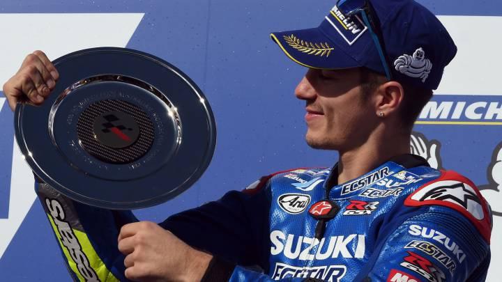 """Maverick: """"Al final me faltó intentar alcanzar a Rossi""""."""