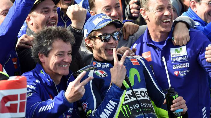 """Rossi ganó 13 posiciones: """"Quizá fue mi remontada más bonita"""""""