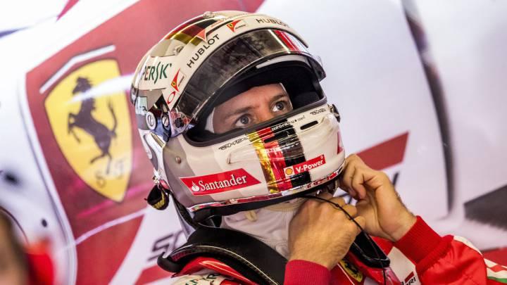 Vettel y su peor racha de podios desde el 2008 con Toro Rosso.