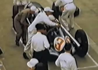 'Pit stop' F1: el trueno actual era una siesta hace 66 años