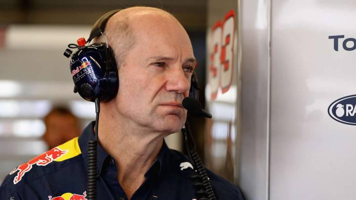 """""""Newey diseña el Red Bull 2017 durante la mitad de la semana"""""""