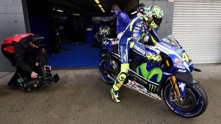 Rossi espera tener un motor más rápido en la Yamaha de 2017.