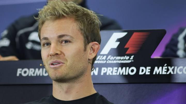 Rosberg sigue siendo del Atleti: \