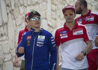 Iannone sobre Lorenzo: