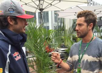 """David Bisbal, un día en la F1 con su """"ídolo"""" Fernando Alonso"""
