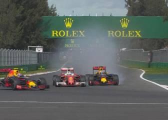 Ferrari, sin podio e indignados: